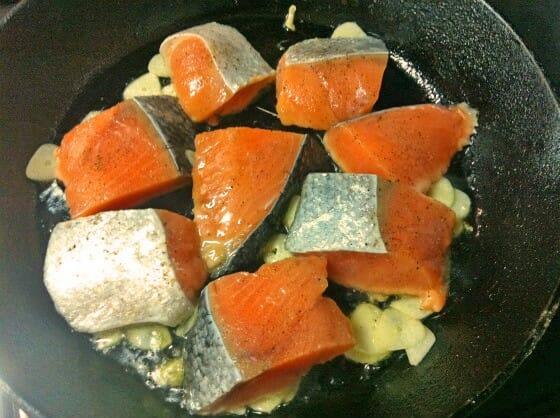 塩鮭 レシピ クリーム煮