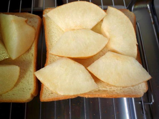 梨トーストの作り方