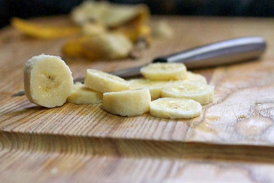 ココナッツオイルバナナ