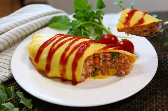 omurice,recipe,japanese,omelette rice