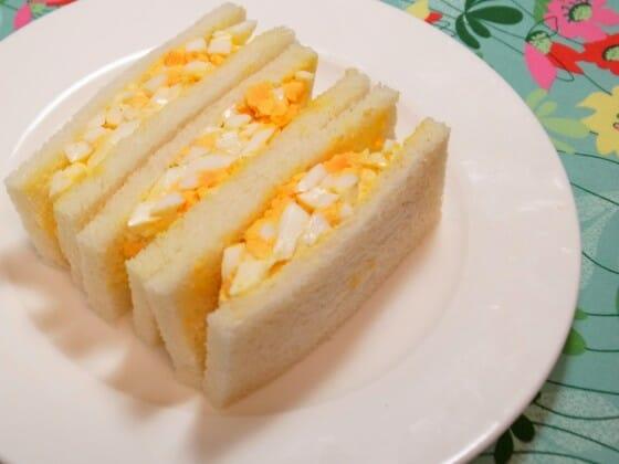 卵サンドのレシピ