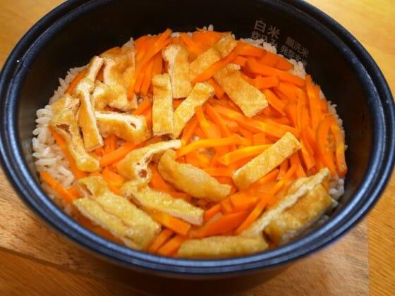 ゆうこりん 豆もやしの炊き込みご飯