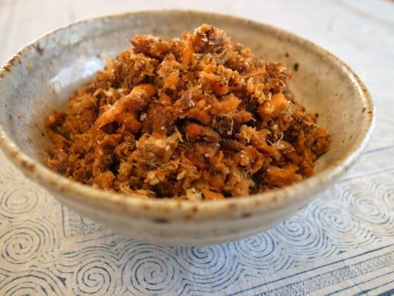 鯖缶の弁当レシピ