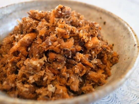 鯖缶のお弁当レシピ