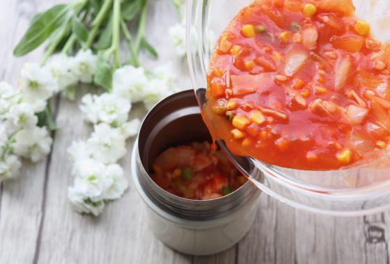 スープジャーリゾットのレシピ