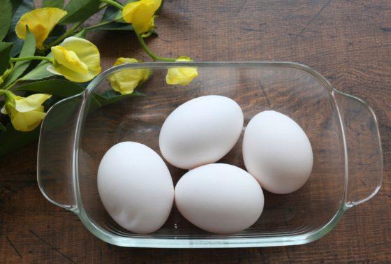 殻付きの塩卵