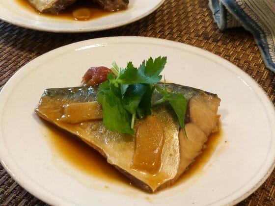 鯖の味噌煮のレシピ