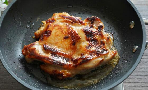 鶏肉の西京焼きの焼き方