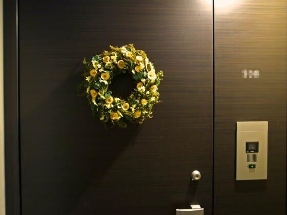 玄関 インテリア 花