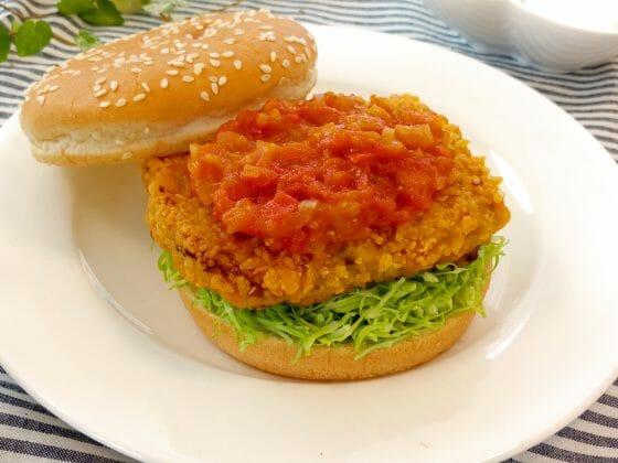 家事えもん 特製アジバーグ 給食 アジバーガー ハンバーガー レシピ