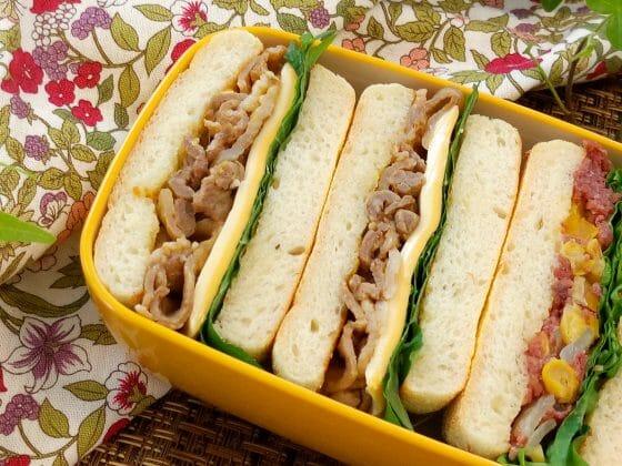 サンドイッチ お弁当 具 中身 運動会