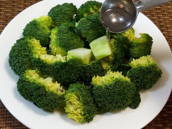 冷凍 ブロッコリー レンジ