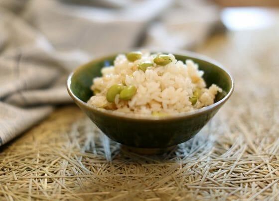 枝豆 レシピ 枝豆ご飯