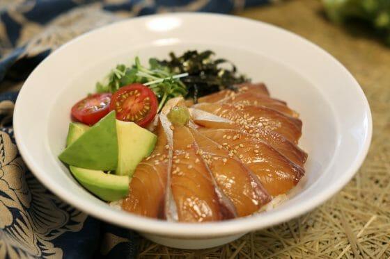 カンパチ レシピ 漬け丼