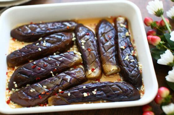 ナンプラーだとこんなに旨い!なすの焼き浸し。タイ料理のお手軽レシピ。