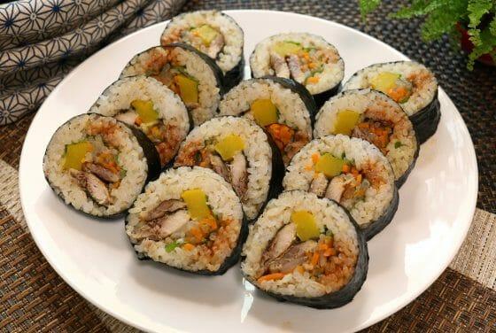 キンパ キムパ レシピ 作り方 海苔巻き 寿司 太巻き みきママ