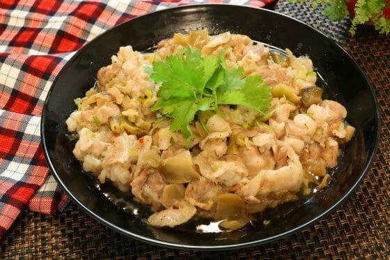 蒸し豚 豚バラ肉 レシピ
