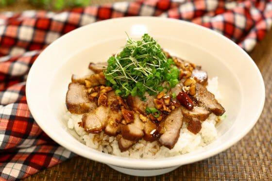 ローストポーク レシピ 作り方 簡単 ソース たれ 丼