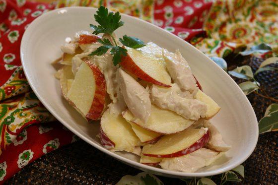 ささみ レシピ 料理 人気 りんご サラダ
