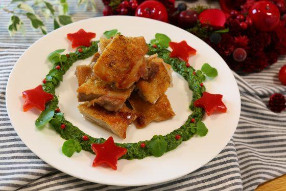平野レミさんの、クリスマスチキンのレシピ。リースチキン ...