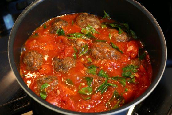 ミートボール レシピ 作り方 簡単 トマト煮