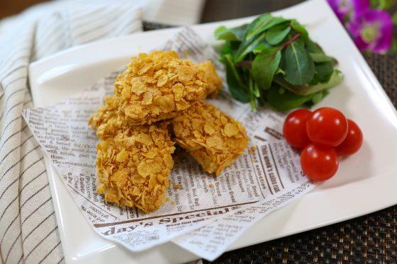 チキンナゲット レシピ 作り方 簡単 揚げない 人気 鶏胸肉 電子レンジ