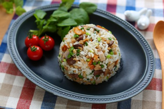 砂肝 レシピ 料理 チャーハン