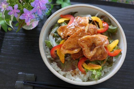 豚丼 レシピ 作り方 人気 簡単 たれ
