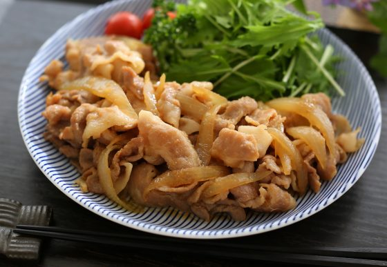 Shogayaki, pork stir-fry, ginger pork, recipe