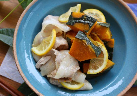 かぼちゃ 豚肉 煮物 レシピ 人気 豚バラ