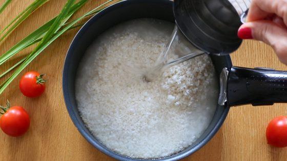 鍋 ご飯 米 炊く レシピ