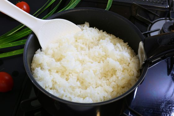 Steamed rice,white rice,How to cook rice