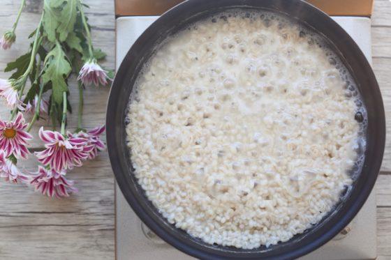 もち麦の茹で方