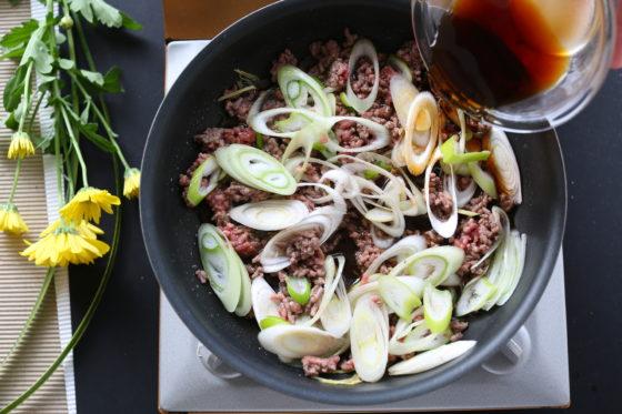 牛丼の簡単な作り方