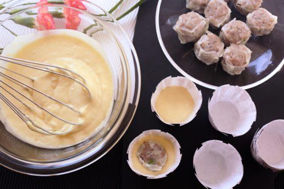 肉まんカップケーキの作り方