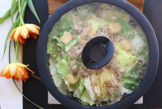 白菜と油揚げの煮物の作り方