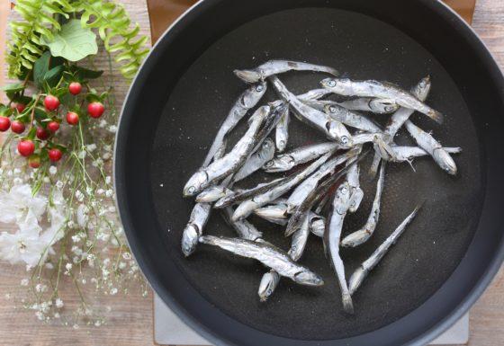 煮干しの生ふりかけの作り方