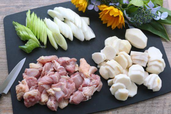里芋グラタンの作り方