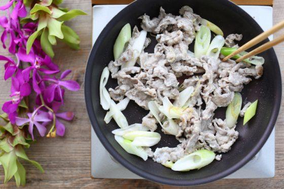 ラム肉炒めの作り方
