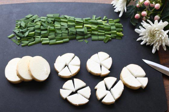 納豆と長芋とニラの長生きみそ汁の作り方