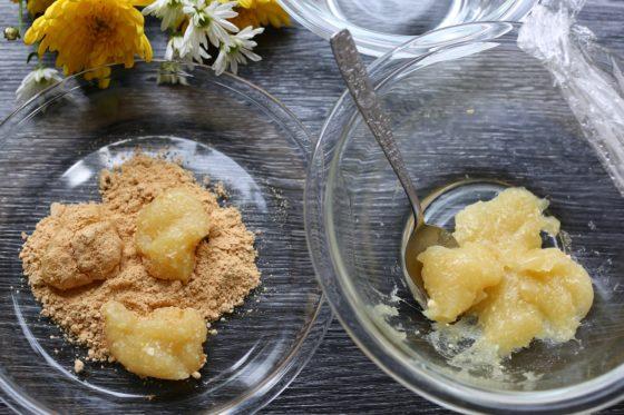 片栗粉で作る餅のレシピ
