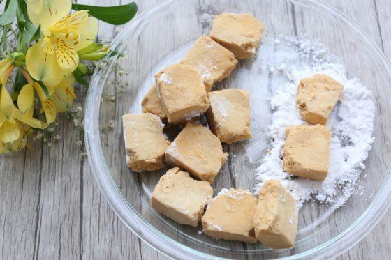 高野豆腐の唐揚げの作り方