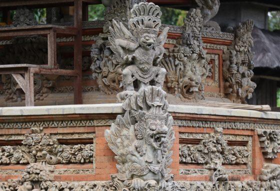 タマンアユン寺院のレリーフ