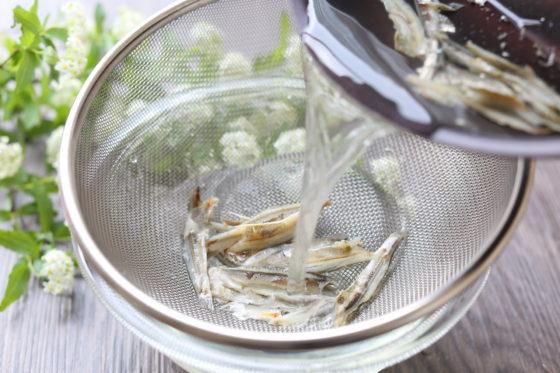 昆布と煮干しの出汁