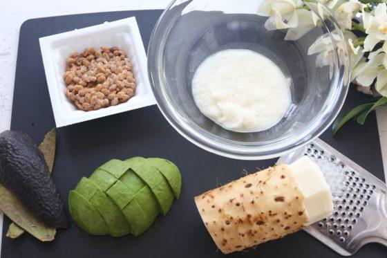 アボカド納豆のレシピ
