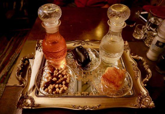 ギリシャの食後のデザート