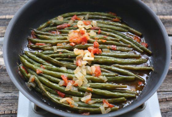 いんげんのオイル煮