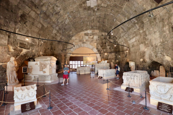 ヒエラポリスの大浴場跡