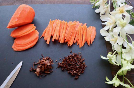 ごぼう茶の茶殻きんぴらごぼうの作り方