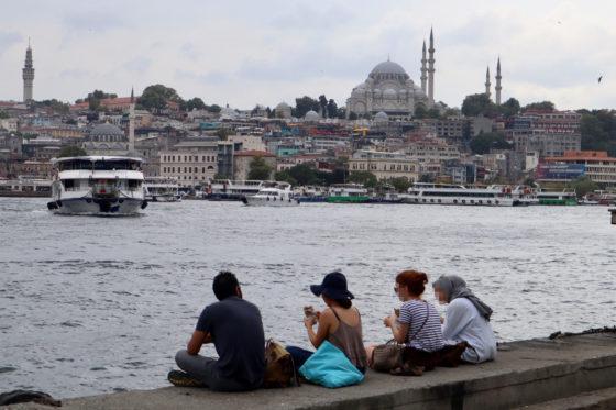 トルコのイスタンブール